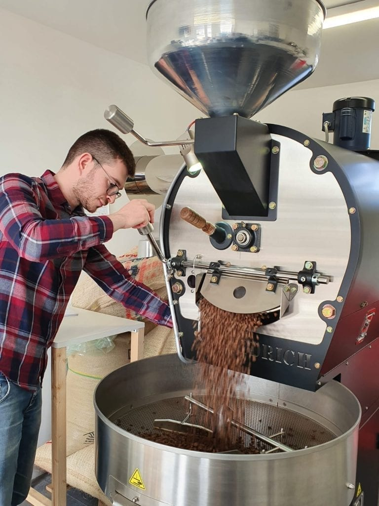 Josh Roasting Coffee